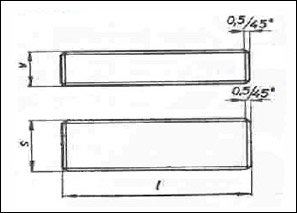 FEROSTAR - český výrobce per a klínů - Pera těsná